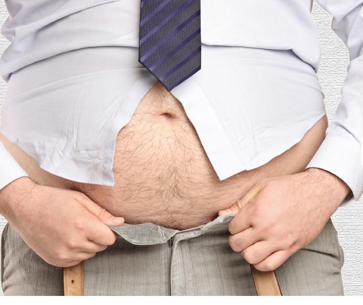人到中年容易發胖,小心你會多了個大肚腩!